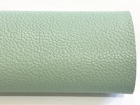 Pistachio Green Faux Leather Thick 1.2mm