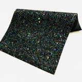 Hallows Eve Black Chunky Glitter