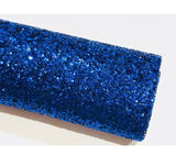 Royal Blue Glitter Chunky A4 A5 Sheets