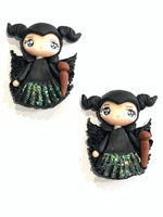 Maleficent Clay Bow Centre