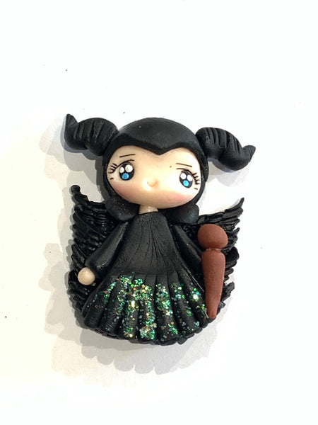 Maleficent Clay Bow Centre Pre Order - The Villains Collection
