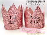 "3.5"" Tall Princess & Prince Crown Steel Rule Die"