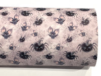 SALE - Halloween Leatherette Fabric Sheets