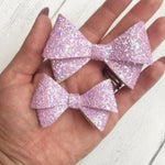 Cherub Bow Cut and Trace Template - Plastic Hairbow Templates