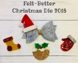 SALE Christmas Shapes Designer Die from Felt-Better UK SALE CLEARANCE
