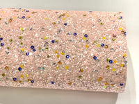 Pastel Pink Candy Sequin Glitter - Choice of Colours