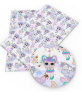 Doll PU Leather Fabric 20 x 32cm sheets SALE