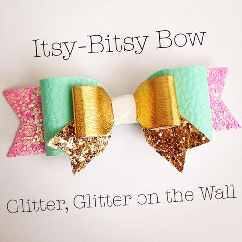 Itsy Bitsy Bow Plastic Template