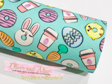 Easter Fabric Felt Sheets - 7 Designs to choose from - Bow making fabric