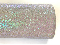 Violet Mist Chunky Glitter Fabric