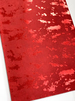 Red Metallic Smooth 0.8mm Leatherette