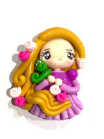 Rapunzel Bow Clay Hair Bow Centre