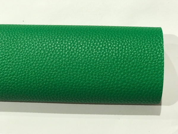 Emerald Green Leatherette 1.2mm Thick Faux Leather