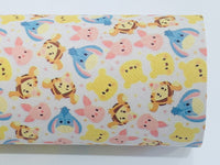 Eeyore Poo Character 20x34cm faux  leather sheet