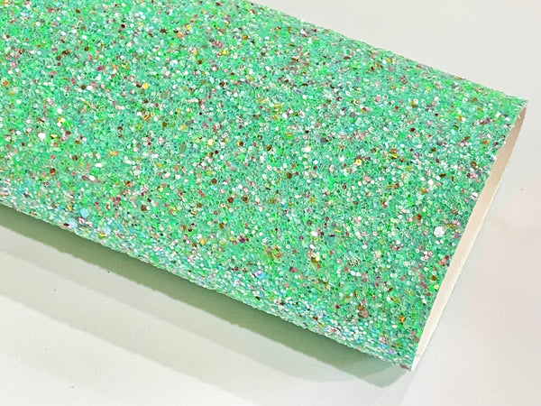 Mint Multicoloured Chunky Glitter with sprinkles of Silver, Pink and Gold