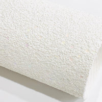 Angel White Premium White Chunky Glitter Canvas