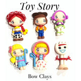 Toy Story 4 Bow Clay Embellishments