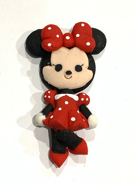 SALE Minnie Mouse Clay Bow Centre