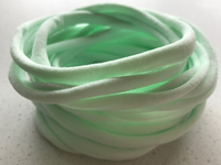 Thin Nylon Elastic Headbands PALE MINT | 5-6 mm | 26cm