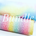 Pastel Rainbow Fluff Bundle