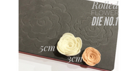 Rolled Flower Die No.1 - 3cm and 5cm Flowers