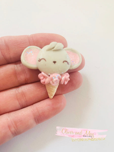 Cute Elephant Bow Clays