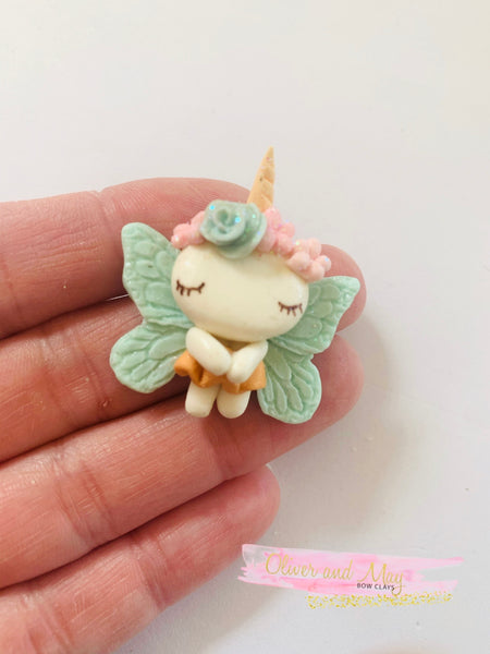 Unicorn Fairy Bow Clays