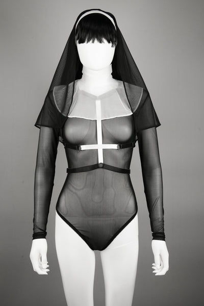 The Nun - Bodysuit - Agashi Shop - Agashi by Christina O
