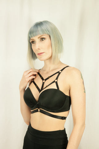 Dani Strap-on Bra Harness - Strap-on - Agashi Shop - Agashi by Christina O