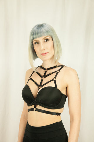 Jezebel Strap-on Bra Harness - Agashi Shop  - 1