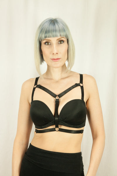 Nadia Strap-on Bra Harness - Strap-on - Agashi Shop - Agashi by Christina O