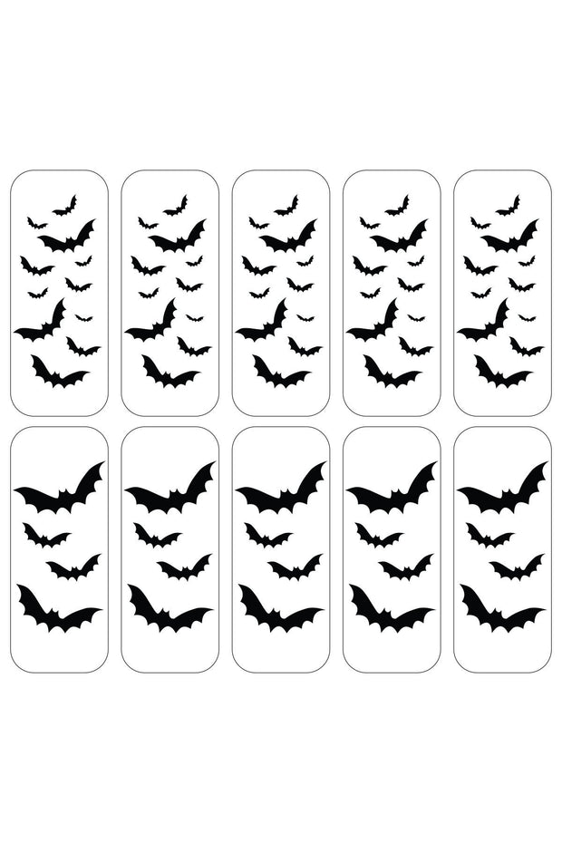 Bat Cave Decals - Agashi Shop