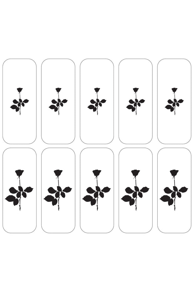 Black Rose Decals - Agashi Shop