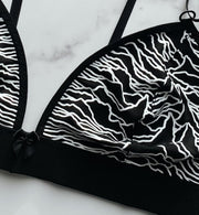 Dark Waves Bralette - Agashi Shop