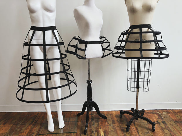 Ready to Ship - Sample Crinoline Hoop Skirt Lot - Crinoline - Agashi Shop - Agashi by Christina O
