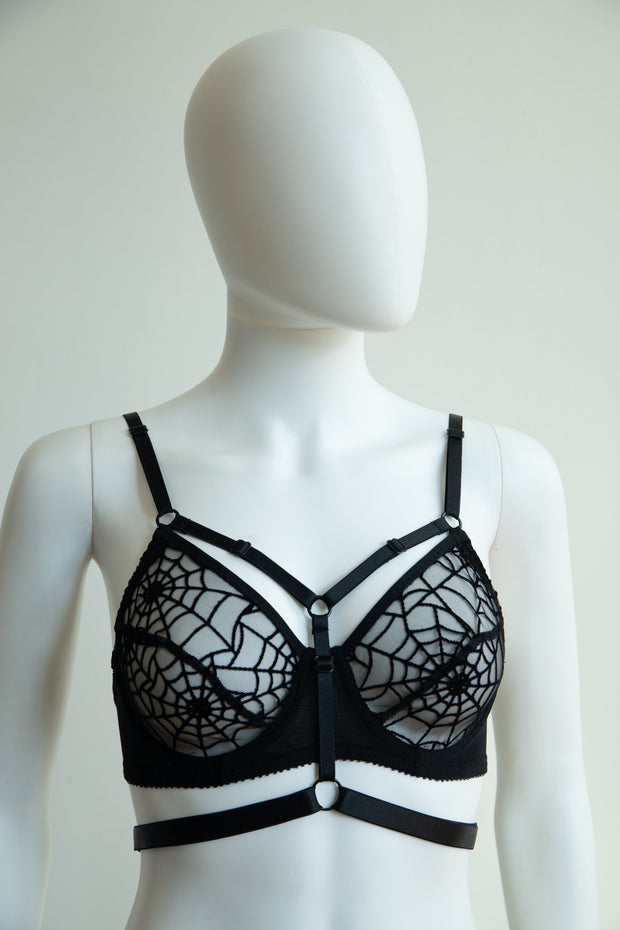 Ready to Ship - Mayday Cage Underwire Bra