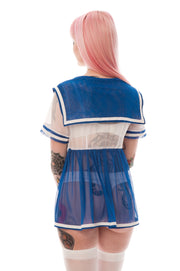 Ready to Ship - Ayumi Moon Short Sleeve Micro Babydoll Sample