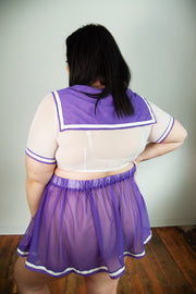 Ready to Ship - Ayumi Saturn Short Sleeve & Micro Skirt Sample Set - Curve