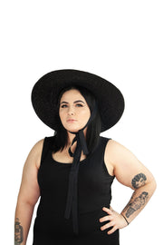 Ready to Ship - Goth In The Wind Hat - Agashi Shop