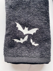 Ready to Ship Merch - Agashi Bats & Spiderweb Hand Towels - Agashi Shop