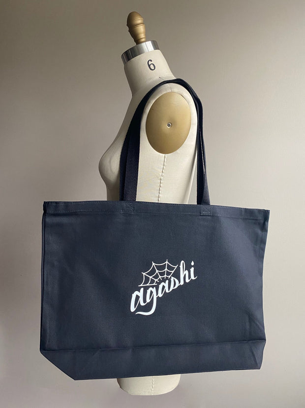 Ready to Ship Merch - Agashi Large Tote Bag - Agashi Shop