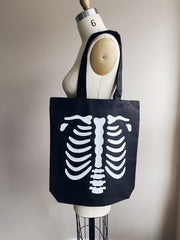 Ready to Ship Merch - Agashi Medium Bones Tote Bag - Agashi Shop