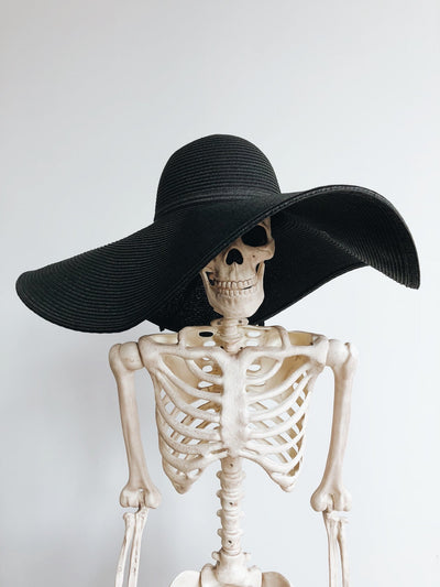 Ready to Ship - Some Like It Goth Wide Brim Hat - Agashi Shop