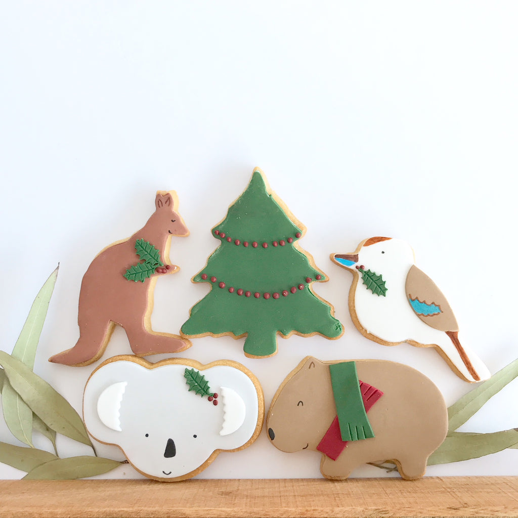 Christmas Aussie Friends Set (2 of each)