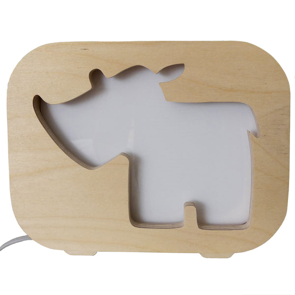 baby rhino nightlight, kids night lights