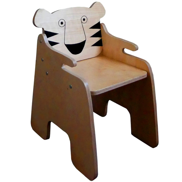 tiger toddler chair