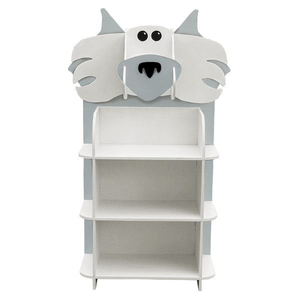 wolf kids bookcase