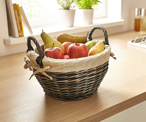 Wicker Food Display Baskets, Wicker Baskets Fruit Basket Filling ...