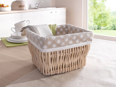 Storage Basket, Small item Container,  Wicker Storage Basket, Stylish Basket, Braided Storage, Woven Baskets, Decorative Baskets