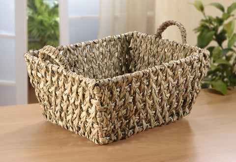 Filling Basket, metal frame with reed grass, Braided Plate Storage, Braiding Stylish Basket, Traditionally Woven Style Plate Basket, Storage Basket
